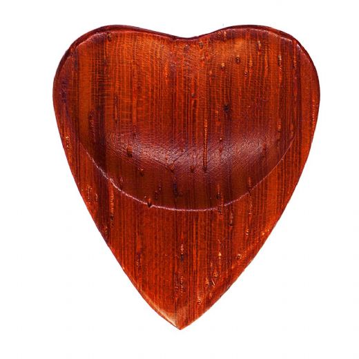 Heart Tones Padauk 1 Guitar Pick